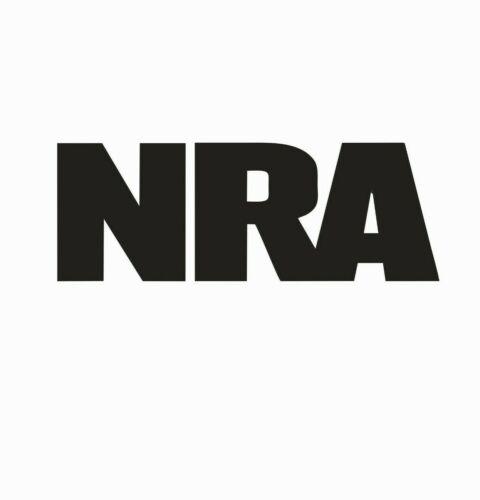 NRA National Rifle Association Vinyl Die Cut Car Decal Sticker-FREE SHIPPING
