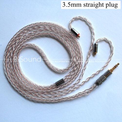 7N OCC Balance Headphone cable cord For Westone UM PRO10 20 30 50 AM PRO10 20 30