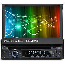CREATONE CTN-8422D26 AUTORADIO DVD 1DIN TOUCHSCREEN GPS NAVI BT l 64GB USB+SD