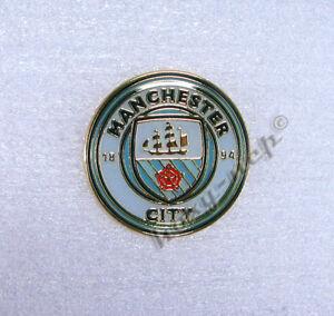 Manchester City FC Offizielle Fu/ßball Crest Pin Abzeichen