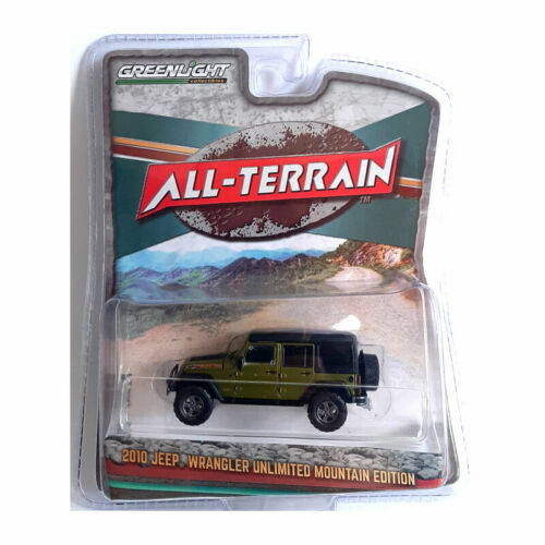GreenLight 35150-e Jeep Wrangler Unlimited verde-All Terrain escala 1:64 nuevo °