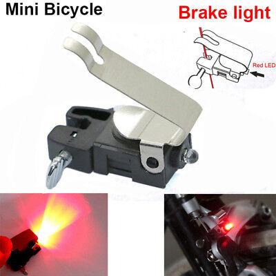 Cycling MTB Mountain Bike Bicycle LED Brake Light Tail Rear Safety Warning Lamp