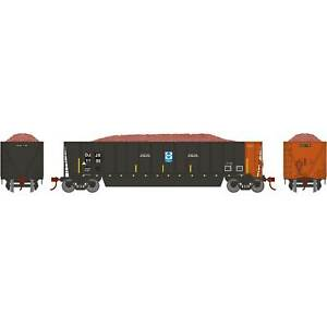 Athearn-HO-Ready-to-Run-Bathtub-Gondola-with-Load-DJJX-1105