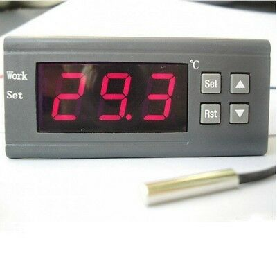 Automatic Digital Temperature Controller Thermostat 12V 110V 220V Control Switch