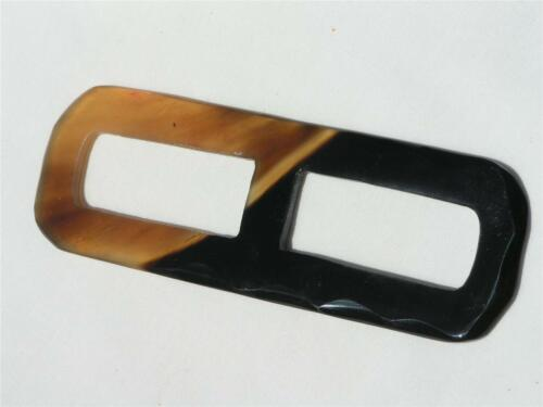 VHSR07 SCARF RING HANDMADE ORGANIC BUFFALO HORN WOMAN'S ACCESSORIES
