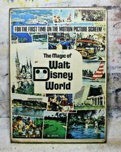 Magic of WALT DISNEY WORLD Handmade Disney World vintage sign