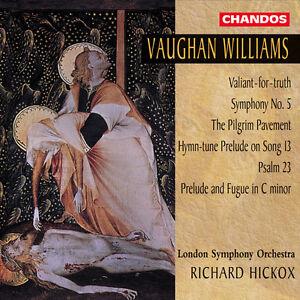 Richard-Hickox-Vaug-Symphony-5-Valiant-for-Truth-Pilgrim-Pavement-New-CD