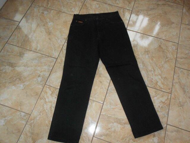 J2235 Wrangler  Jeans W33 L32 Schwarz Sehr gut  | Klein und fein