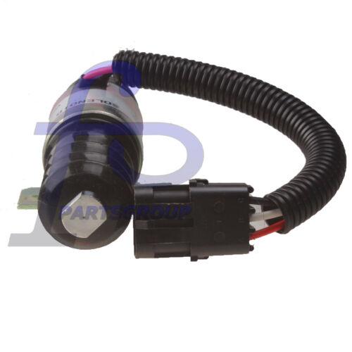 420-35448 Fuel Shutoff Solenoid for Mustang Gehl Skid Steer Diesel 930A /& others