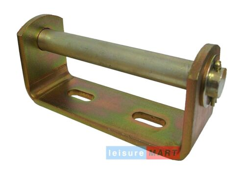 Boat Trailer Brackets with Keel V Roller 19mm Bore Pair LMX1472