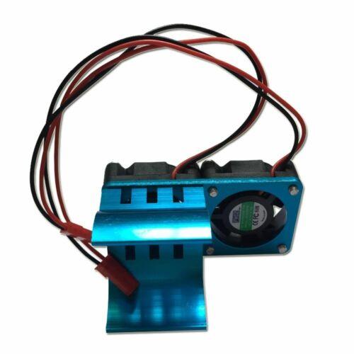 ALLUMINIO Dissipatore Di Calore /& Ventola di raffreddamento per 1:10 RC AUTO HSP 540 550 3650 Dimensioni Motore