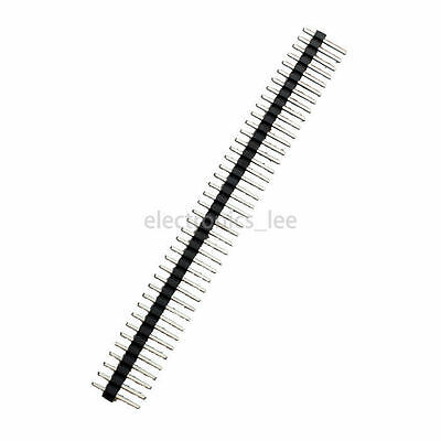 100pcs 40 1X40pin Single Row Straight Male 2.54mm Breakable Pin Header connector