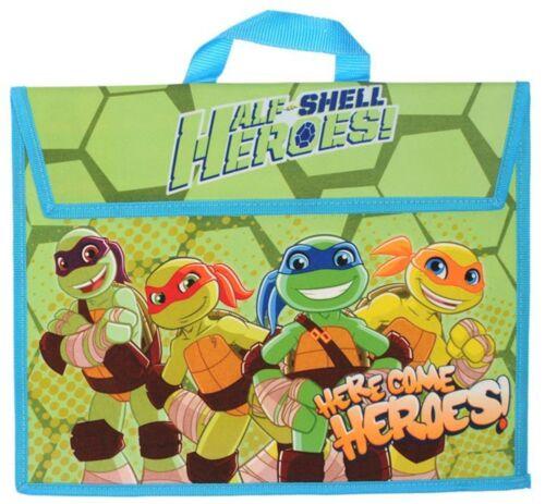 Teenage Mutant Ninja Turtles Book Bag Children/'s Official Licensed School Bag