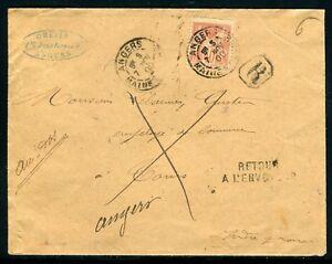France-Enveloppe-en-recommande-de-Angers-pour-Tours-et-retour-en-1900-JJ-88