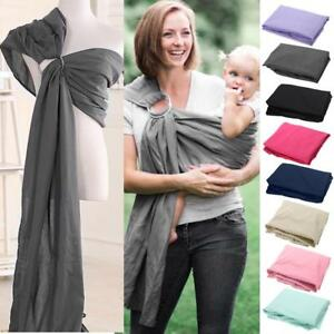 The Cheapest Price Cotton Kid Baby Infant Carrier Soft Baby Sling Breathable Comfortable Wrap Infant Carrier Ring Swing Slings Baby Sling Product Mother & Kids Activity & Gear