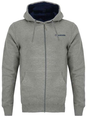 Lambretta Full Zip Hoodie Jumper Cotton With Back Print Mens Soft Sweats SS3121