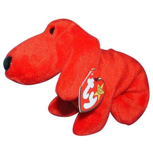 Dog Red 1996 MWMT Ty Beanie Baby Rover