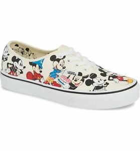 Vans-Authentic-Disney-Mickey-039-s-Birthday-White-VN0A38EMUJ2-Men-039-s-Shoes-NEW