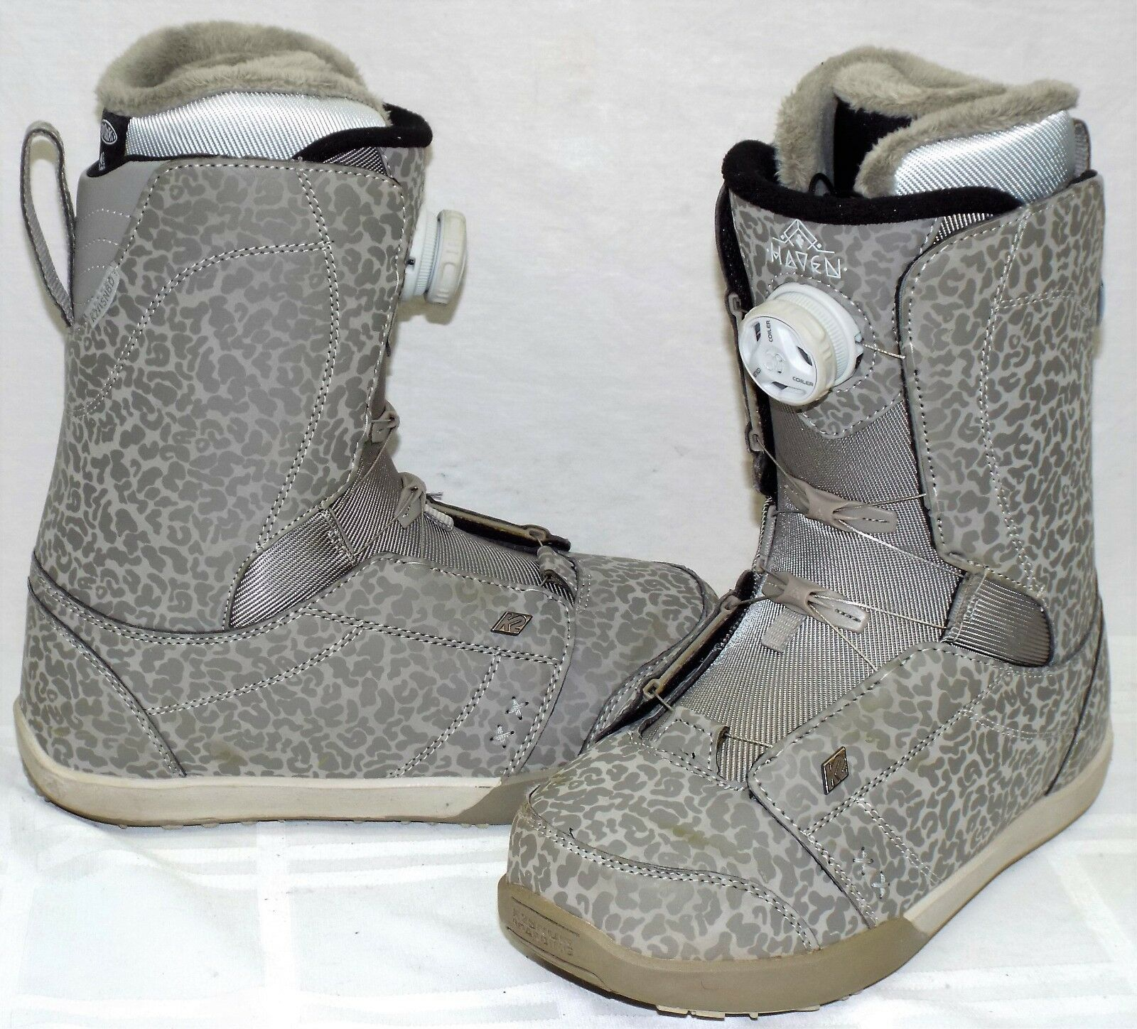 15-16 K2 Haven Boa Used Women's Snowboard Boots Size 7