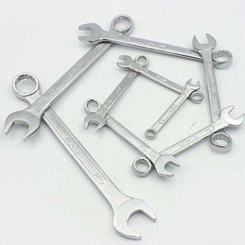 Maulringschlüssel Gabelringschlüssel Maulschlüssel Ringschlüssel 6mm bis 19mm HY
