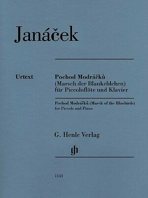 Leos Janacek March Of The Bluebirds Sheet Music Piccolo And Piano New 051481143 Aromatic Character And Agreeable Taste Musical Instruments & Gear