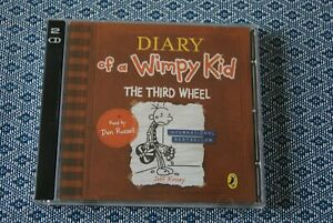 Diary-of-a-Wimpy-Kid-The-Third-Wheel-CD-Audio-Book-Puffin-Audiobooks