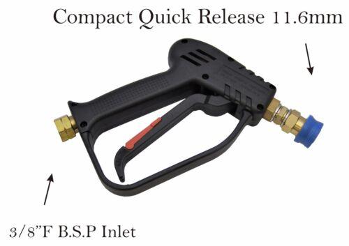"Compact Quick Release 11.6mm Wash Gun,700mm Lance /& Snow Foam Lance 3//8/""F Inlet"