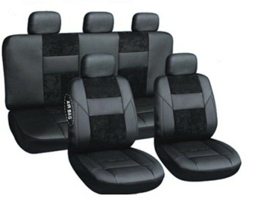Sitzbezüge Autoschonbezüge Schwarz geeignet für BMW serie 5 E60//E61 2003-2010