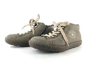 Rieker Antistress Damen Sneaker Freizeitschuhe Schnürschuhe Comfort Grau Gr. 37