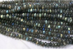 3 mm Very Good quality Faceted Rondelles Beads 13 inch long strand rondelles beads shape CITRENE size 2