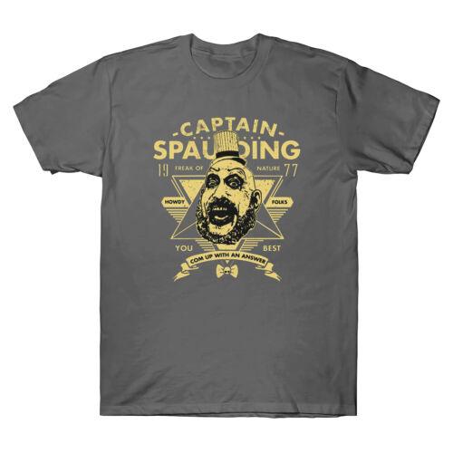 Captain Spaulding Freak of Nature You Best Vintage Men/'s T Shirt Cotton Black