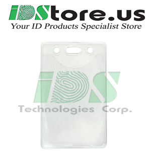 10-Clear-Vinyl-Vertical-Badge-Holder-with-Slot-and-Chain-Holes-2-3-034-x-3-38-034