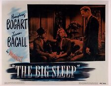 Humphrey Bogart & Lauren Bacall The Big Sleep Unsigned Glossy 8x10 Promo Photo