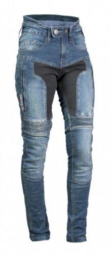 36-46 MBW Motorrad Damen Hose Jeans Aramid Pippa Gr