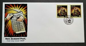 1996-New-Zealand-1st-Election-under-MMP-Mixed-Member-Proportional-2v-Stamps-FDC