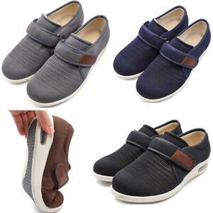 Men-039-s-Diabetic-Slippers-Breathable-Lightweight-Swollen-Feet-Elderly-Edema-Shoes