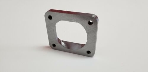 "T4 Undivided to 3/"" inch Inlet Turbo Flange Transition 1//2/"" CNC thick weld custom"