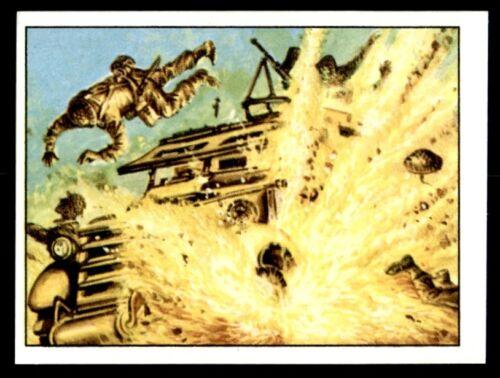 166 Panini Action Man Sticker 1983 No