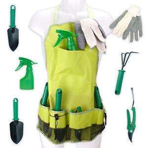 Gartenwerkzeugschuerze-Garten-Werkzeug-Schuerze-Werkzeugschuerze-Gaertnerset-7teilig