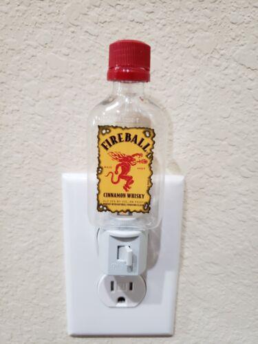 Handmade Item Whisky Fireball Whisky Mini Bottle LED Night Light Gift Bar