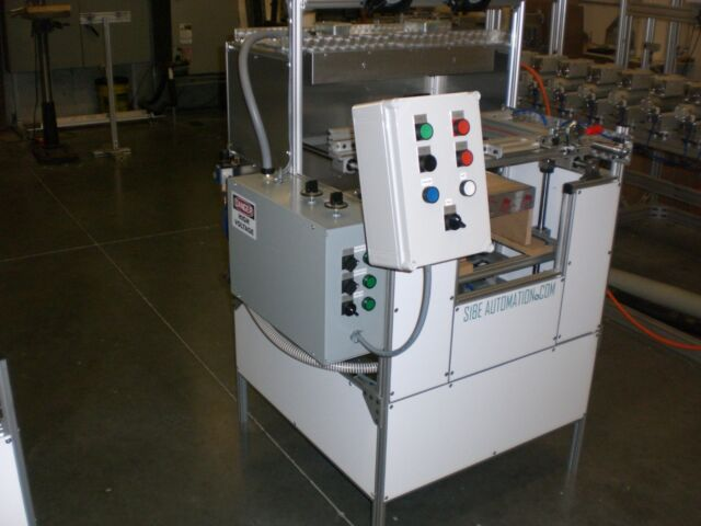 Sibe Automation Vacuum Forming Machine 12x18 Thermoforming Tabletop