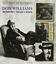 Don Williams - One Good Well/True Love/Currents [New CD] UK - Import