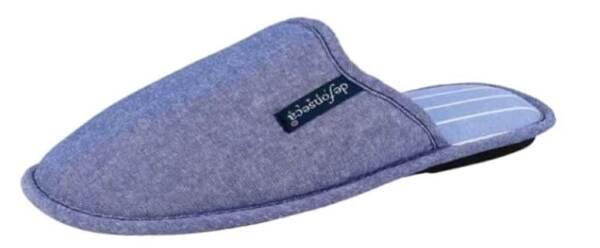 Bellissimo De Fonseca Pantofole Ciabatte Da Uomo Cotone Mod. Bari Top M309 Jeans Slippers Fabbricazione Abile