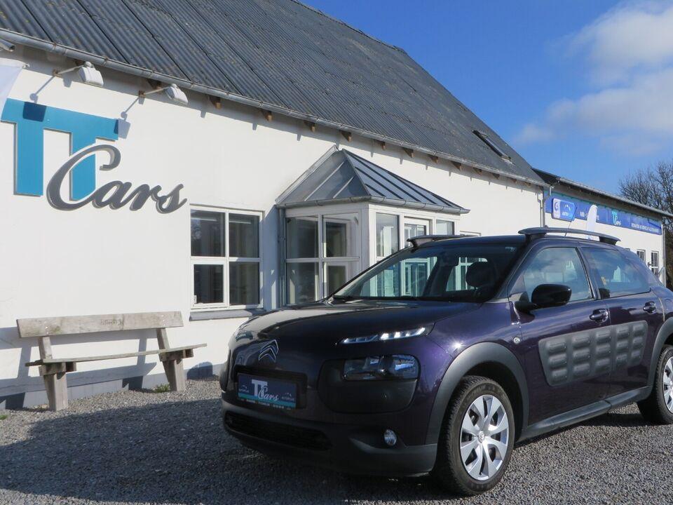 Citroën C4 Cactus 1,2 PT 82 Feel Benzin modelår 2015 km