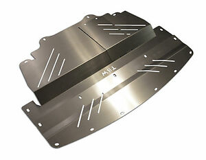 Aluminum Engine Cover Guard Splash Shield Under Tray For