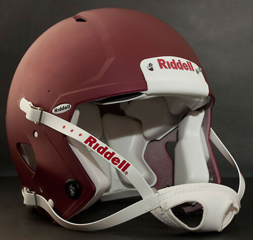 Color: FLAT MAROON Riddell Revolution SPEED Classic Football Helmet