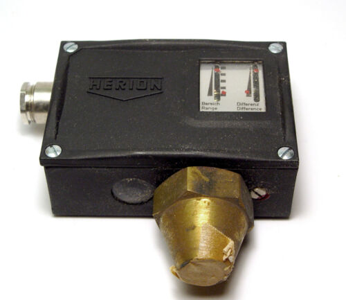 0.5 bis 25 bar Differenz-Regler Druck-Schalter 08018 00 Herion Druckschalter