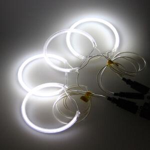 Angel-Eyes-2-Pair-White-CCFL-Halo-Rings-Light-For-BMW-E36-E38-E39-E46-3-7-Series