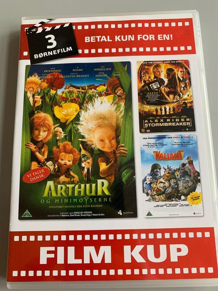 Arthur Alex Rider og Valiant, DVD, familiefilm