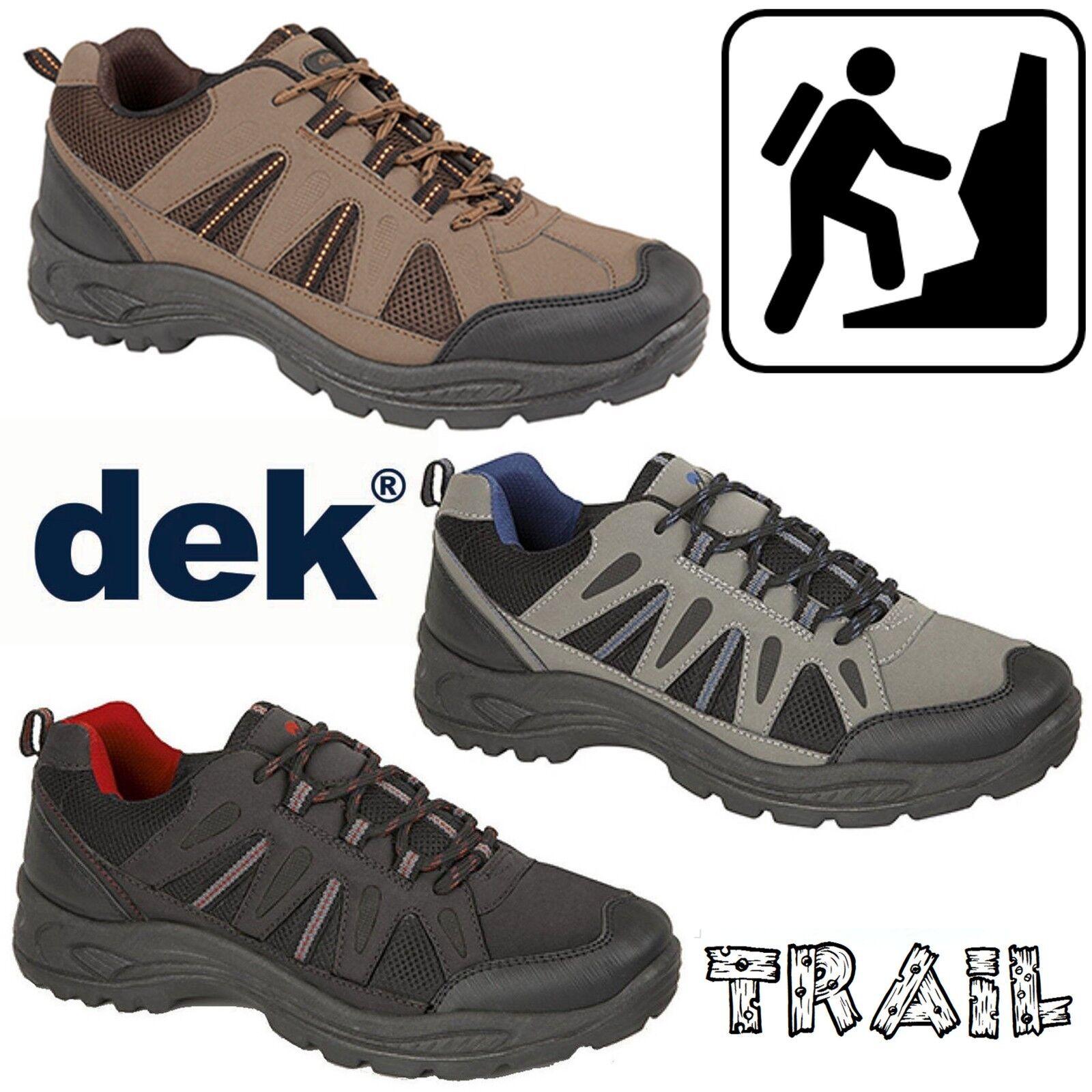 DEK Ghillie Ghillie DEK Up Trail Chaussures Homme Cuir Synthétique trek randonnée en plein air Baskets 5cb9bc